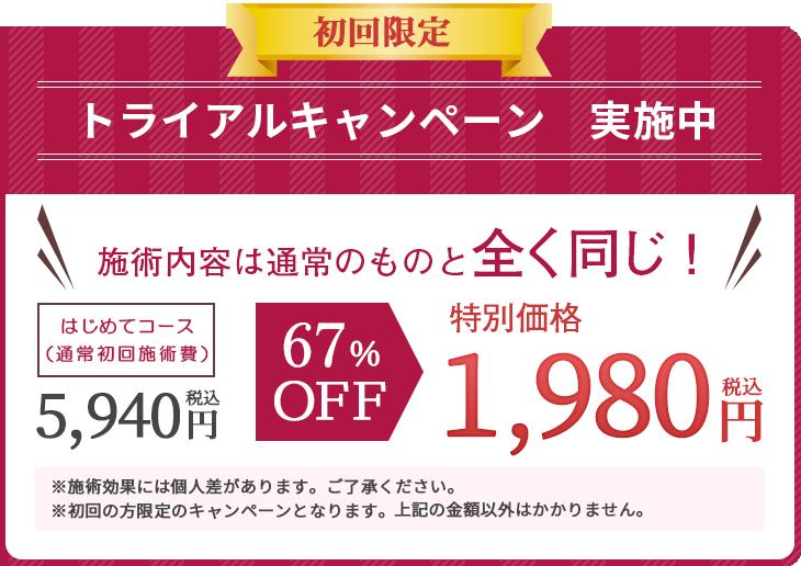 みかも鍼灸接骨院 豊川院骨格整体院初回限定価格1,980円